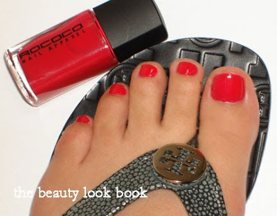 Summer Brights On Tips Amp Toes Chanel Orange Fizz Rococo Trash The Beauty Look Book