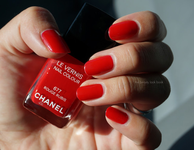Chanel Le Vernis Rouge Rubis 677 The Beauty Look Book