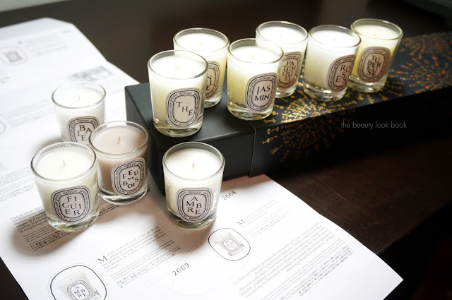 Diptyque candle set x10 nordstrom exclusive the beauty for Where to buy diptyque candles