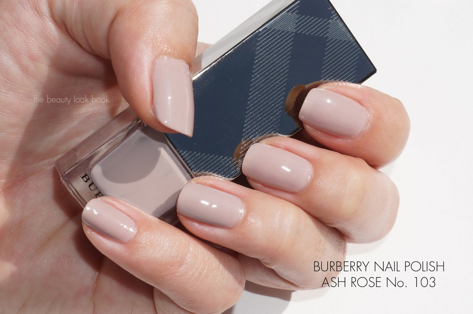 Burberry Beauty Nail Polish in Nude Pink No. 101 and Ash Rose No ...