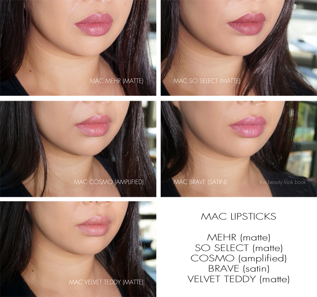 Favoloso MAC So Select Matte Lipstick | The Beauty Look Book RH37