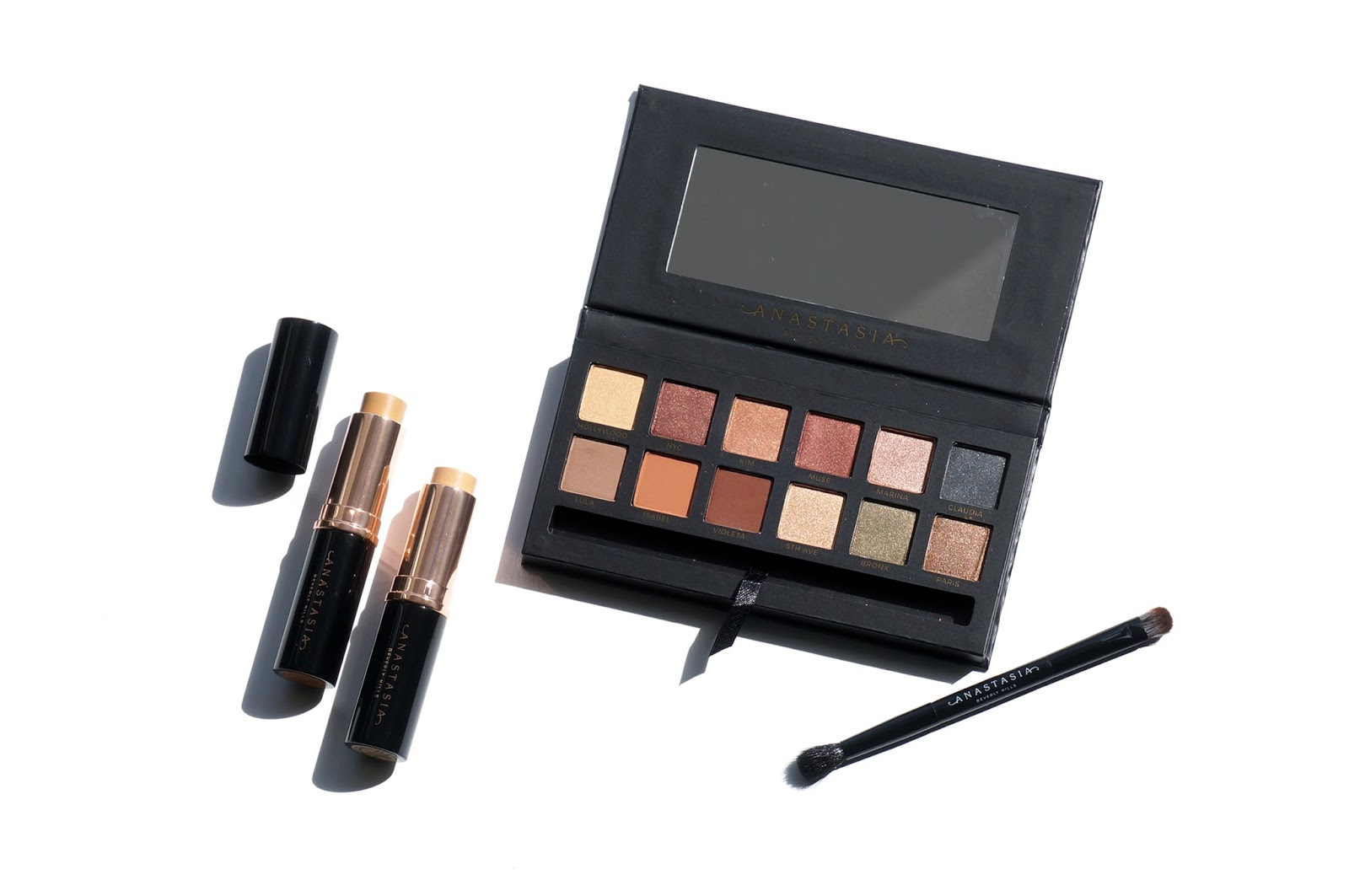 The Beauty Look Book - Anastasia Beverly Hills Master Palette by Mario and Stick Foundation