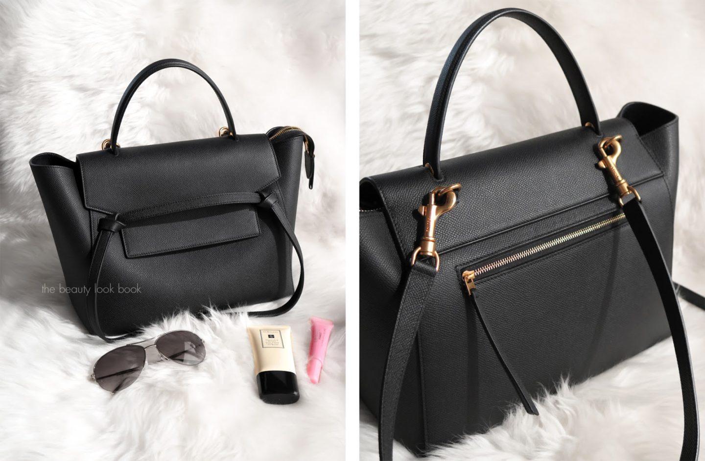 The Beauty Look Book - Inside My Celine Belt Bag