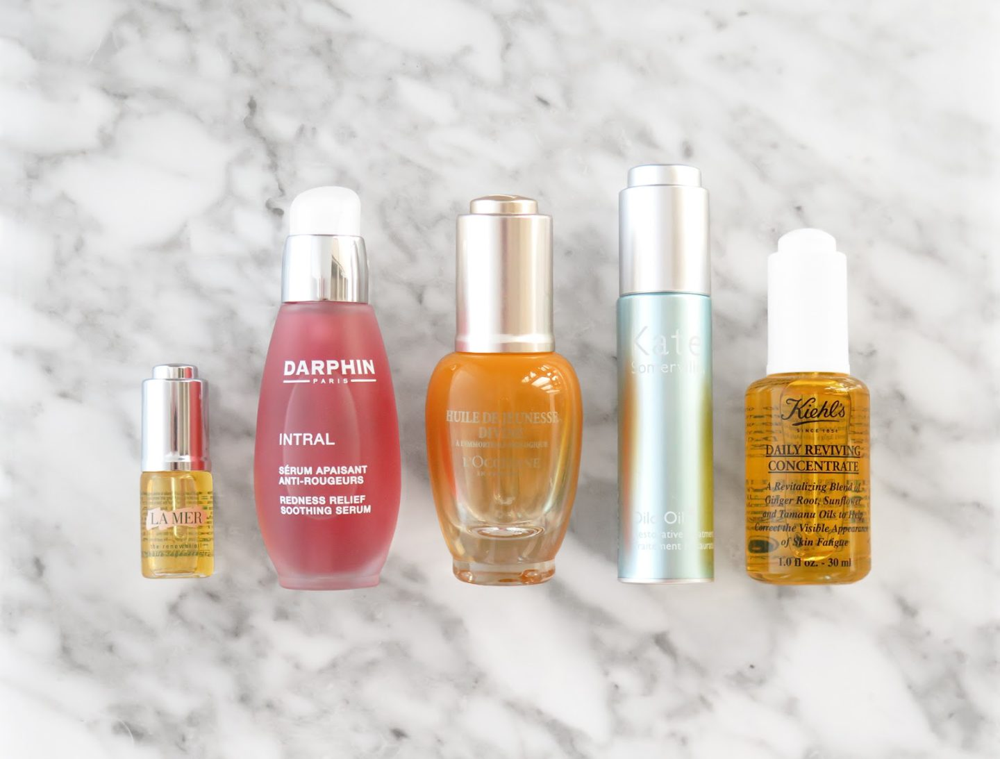 The Beauty Look Book - Oils for Sensitive Skin La Mer, Darphin, Kate Somerville, Kiehl's