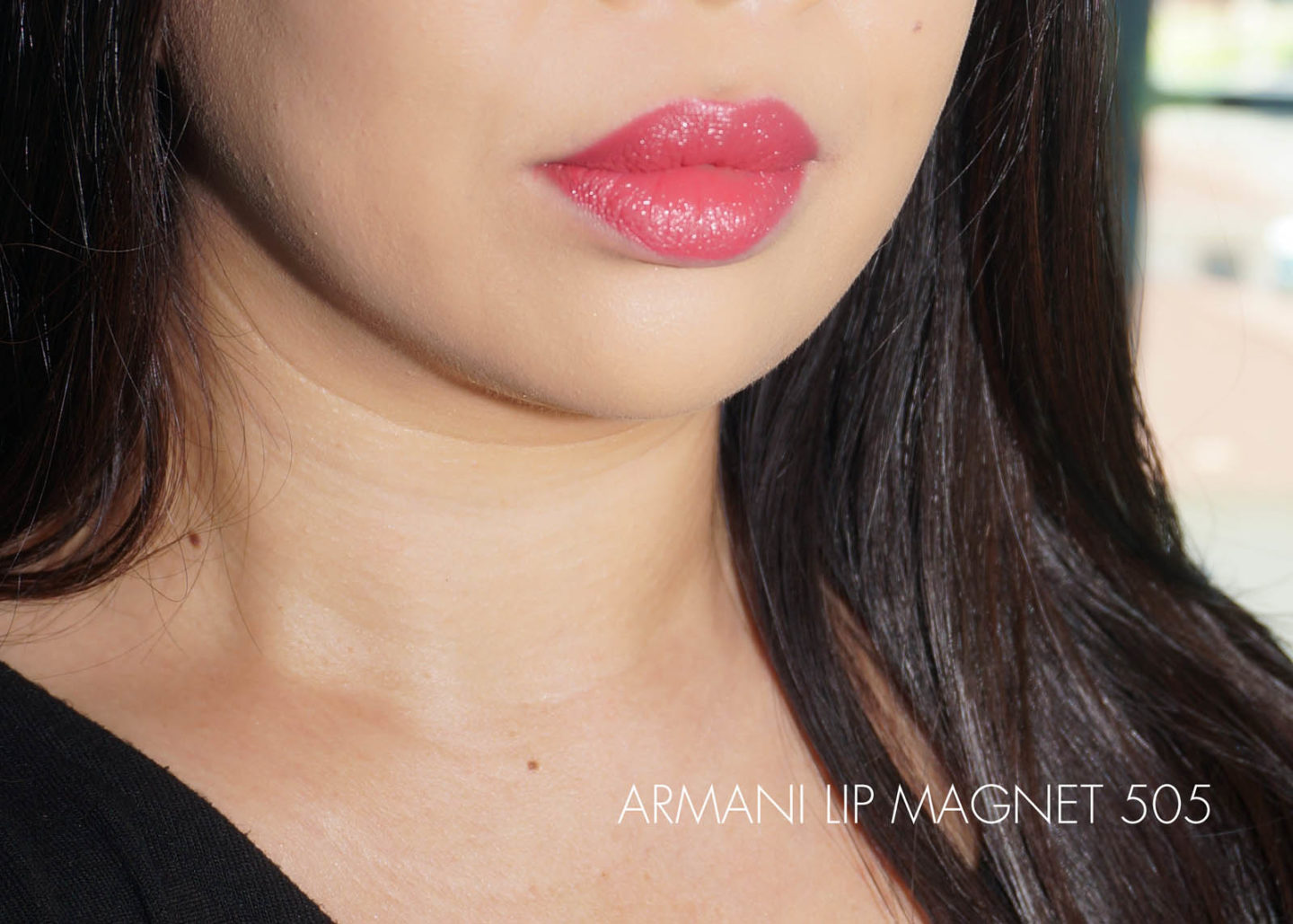 Armani Lip Magnet Swatch 505