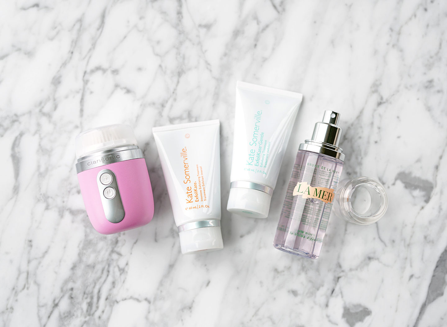 Clarisonic Mia Fit Kate Somerville Scrub La Mer Face Mist