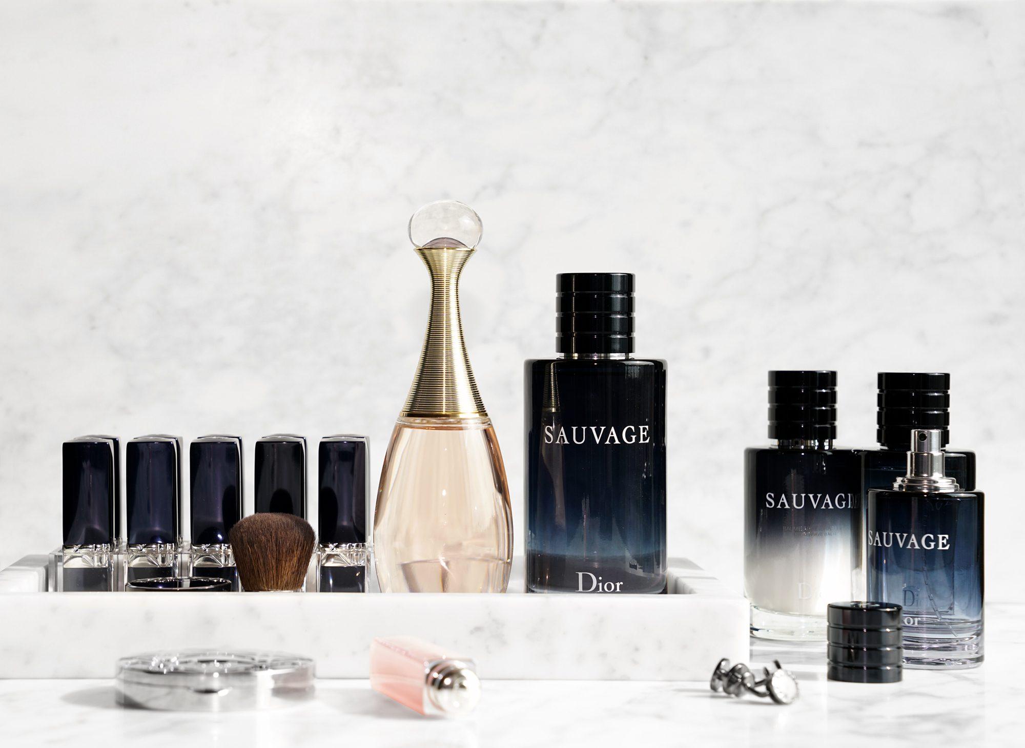 Dior Jadore Eau de Toilette and Sauvage Eau de Toilette
