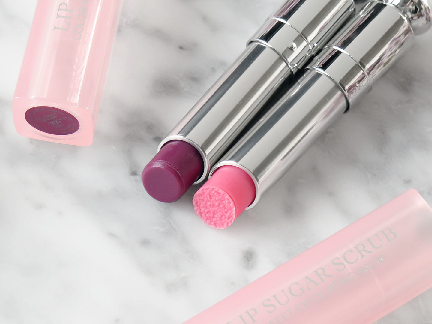 Dior Lip Sugar Scrub and Lip Glow Berry | The Beauty Look Book