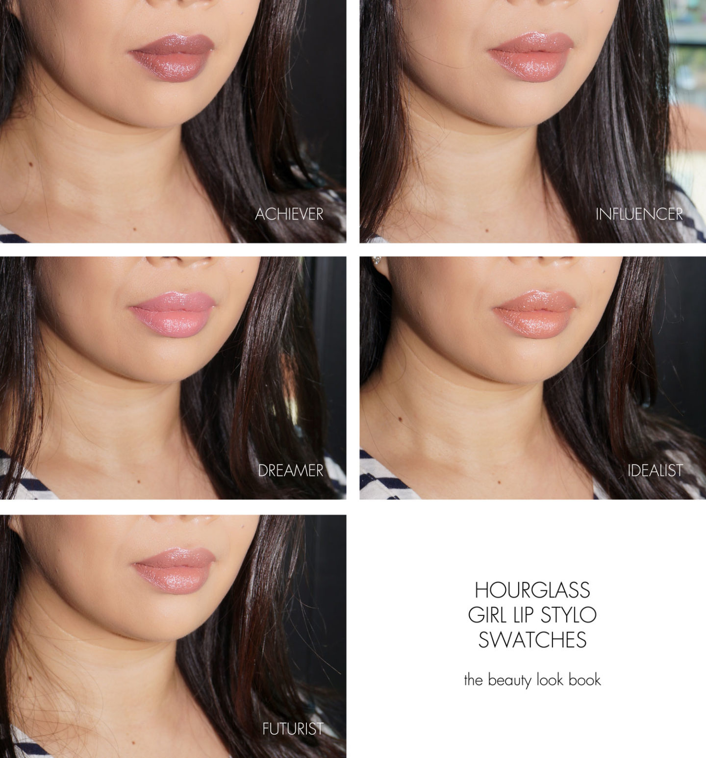 Hourglass GIRL Lip Stylo Achiever, Influencer, Dreamer, Idealist, Futurist | The Beauty Look Book
