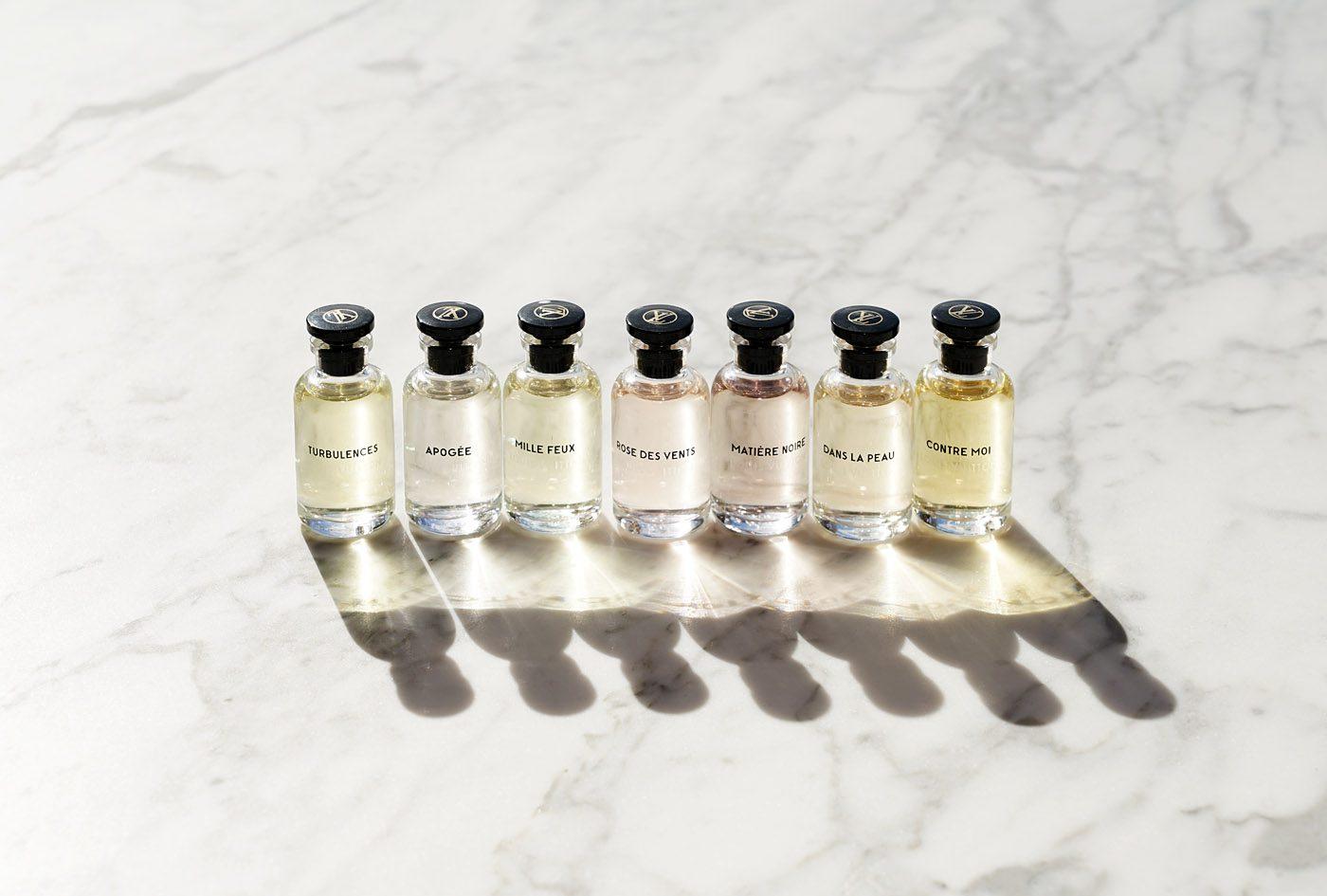 Louis Vuitton Perfume Miniature Set x7 Review Via The Beauty Look Book