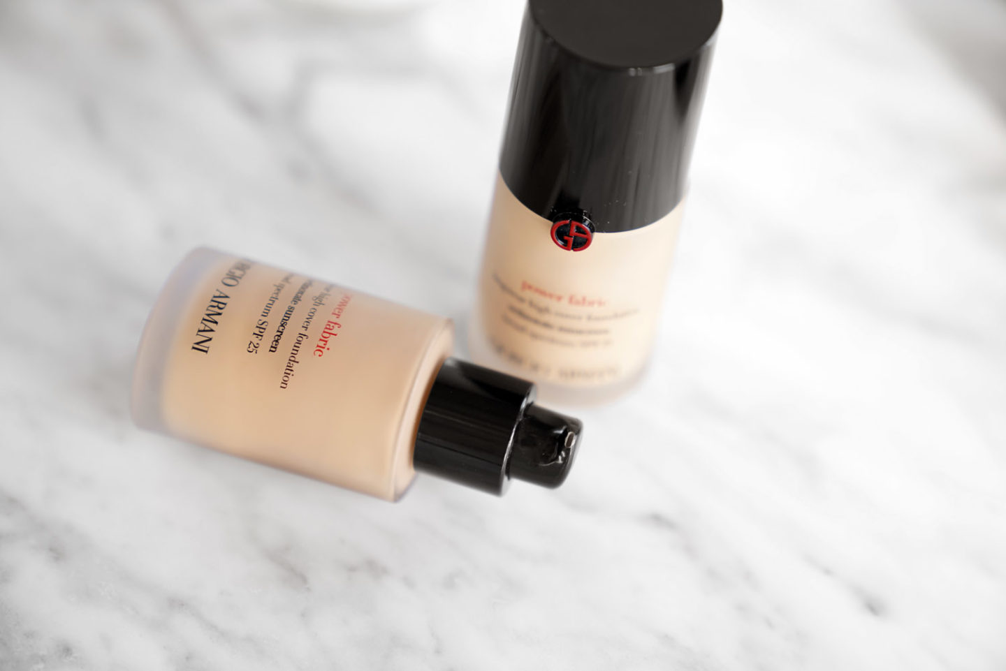 Armani Power Fabric Foundation | The Beauty Look Book