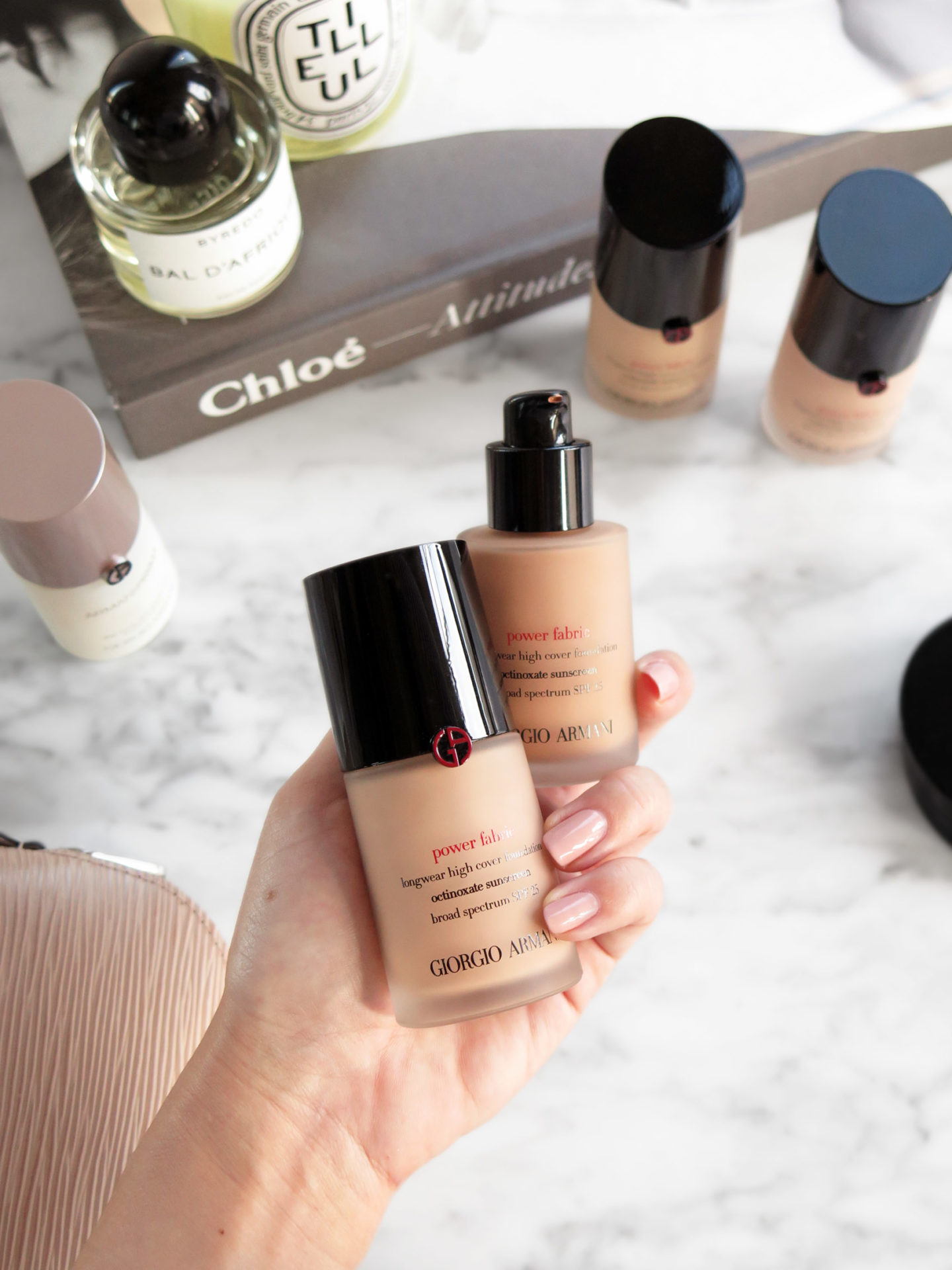 Armani Power Fabric Foundation Review | The Beauty Look Book