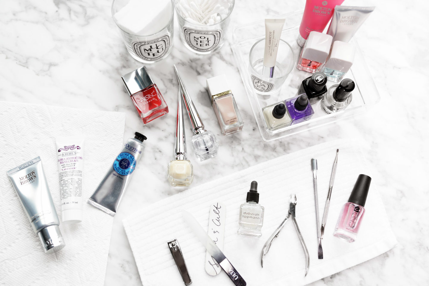 Best Hand and Nail Care Essentials for a DIY Manicure