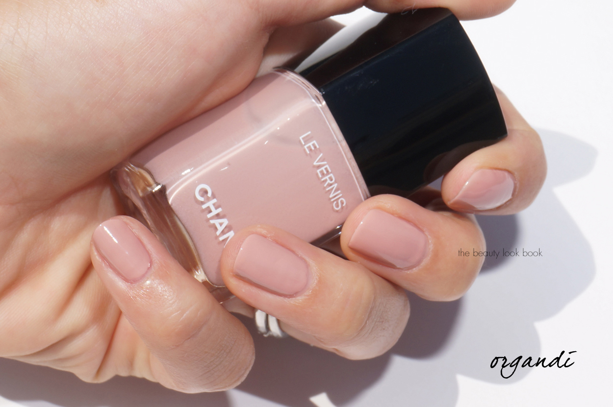 Chanel Organdi Le Vernis | The Beauty Look Book