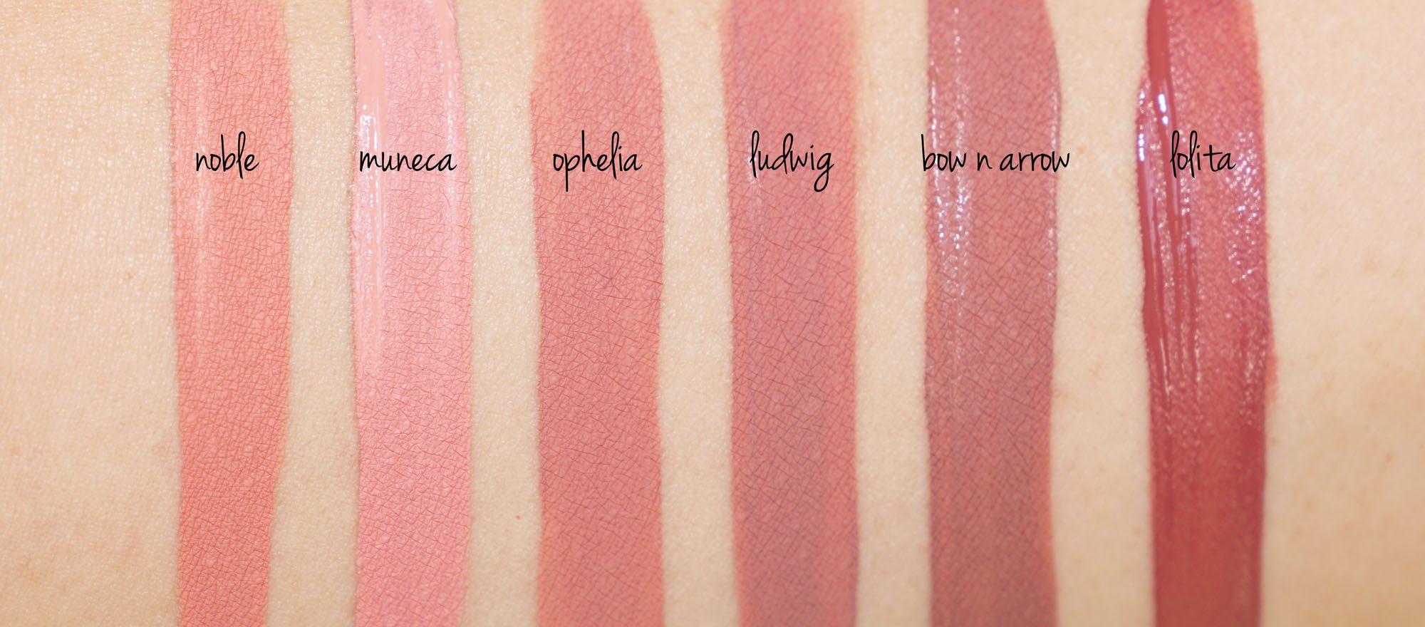 ... Kat Von D Everlasting Liquid Lipstick Nudes | The Beauty Look Book