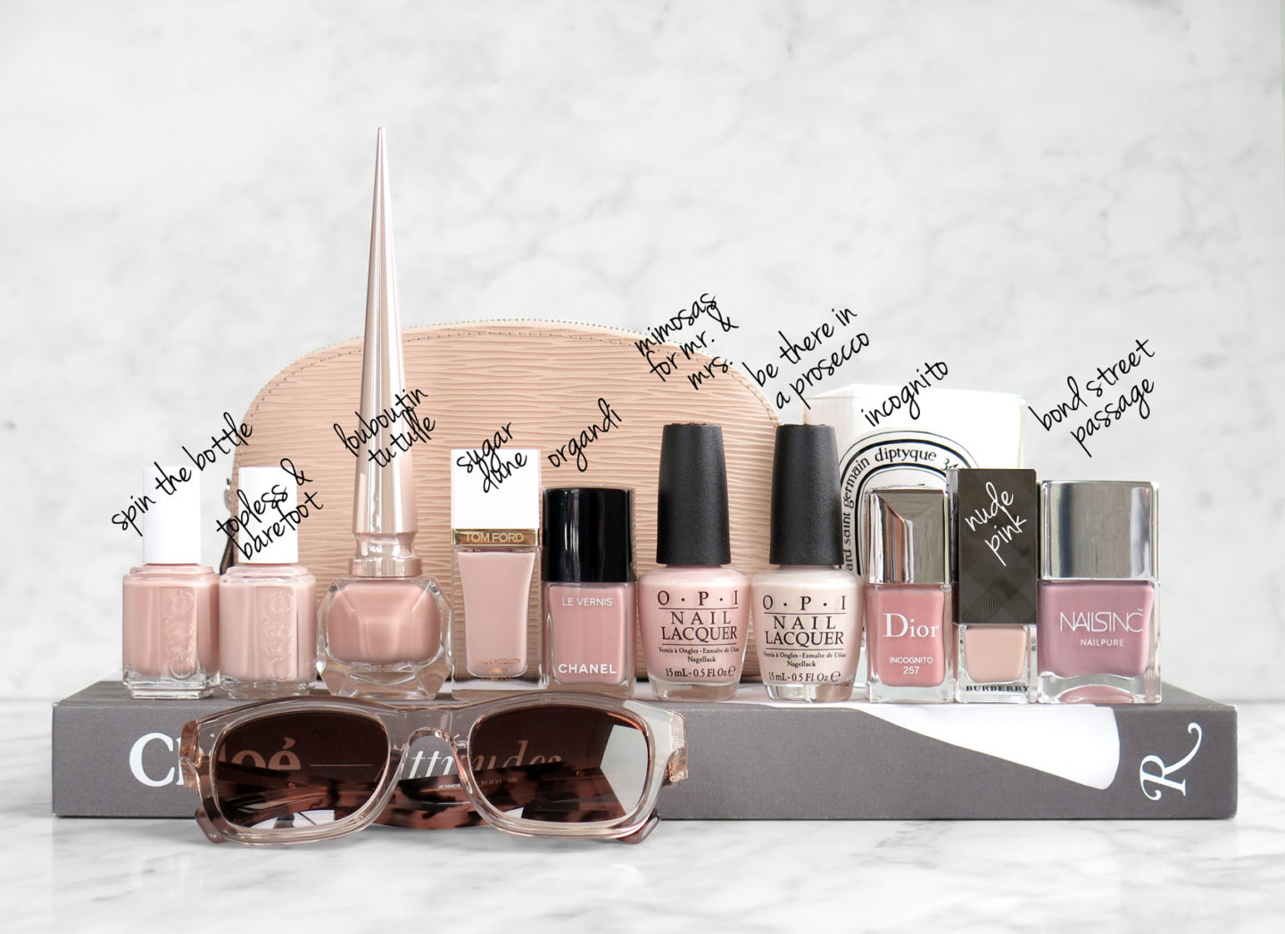Best Neutral Nude Pink Polishes for Everyday | The Beauty Look Book