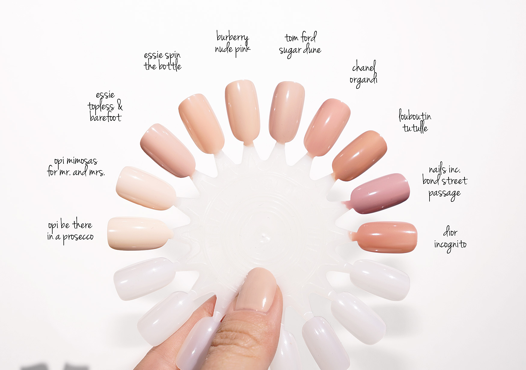 My Favorite Everyday Neutral Nail Polishes | The Beauty Look Book