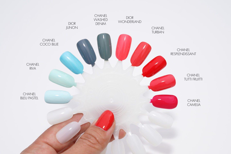 Nail Polish Comparisons Chanel Riva vs Bleu Pastel   The Beauty Look Book
