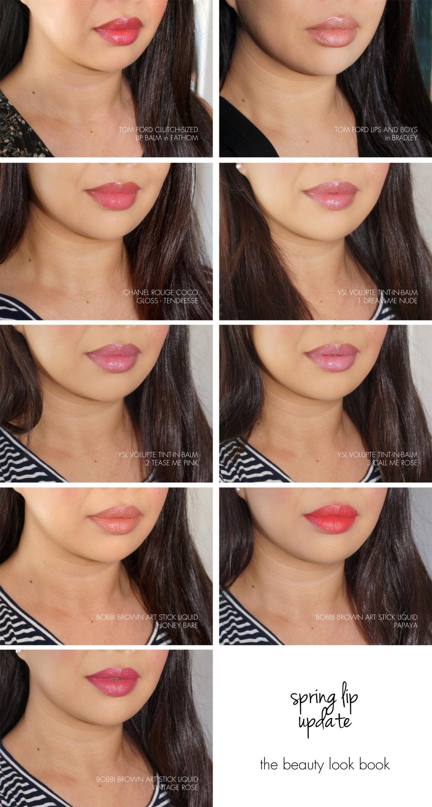 Spring Lips | The Beauty Look Book