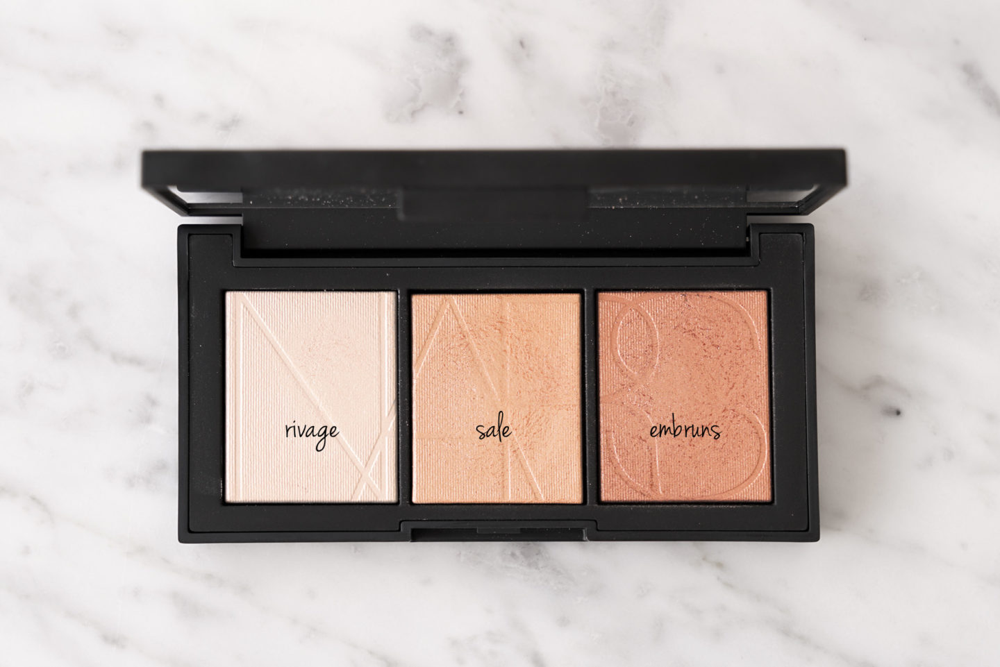 NARS Banc de Sable highlighting palette | The Beauty Look Book