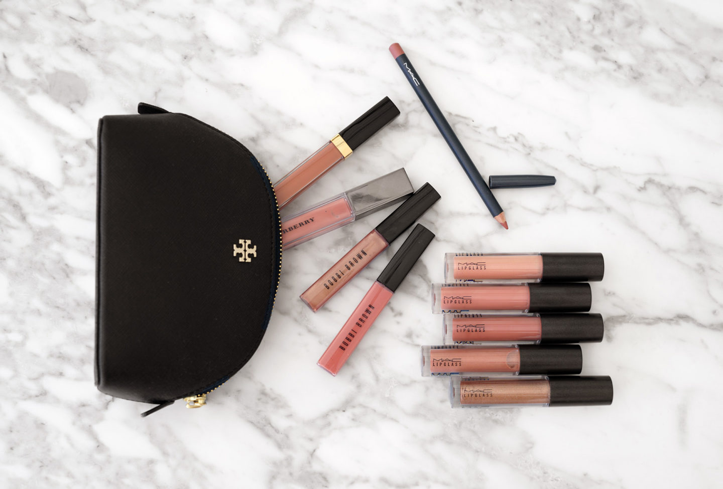 Nude Lipglosses from Chanel, Burberry, Bobbi Brown and MAC | The Beauty Look Book