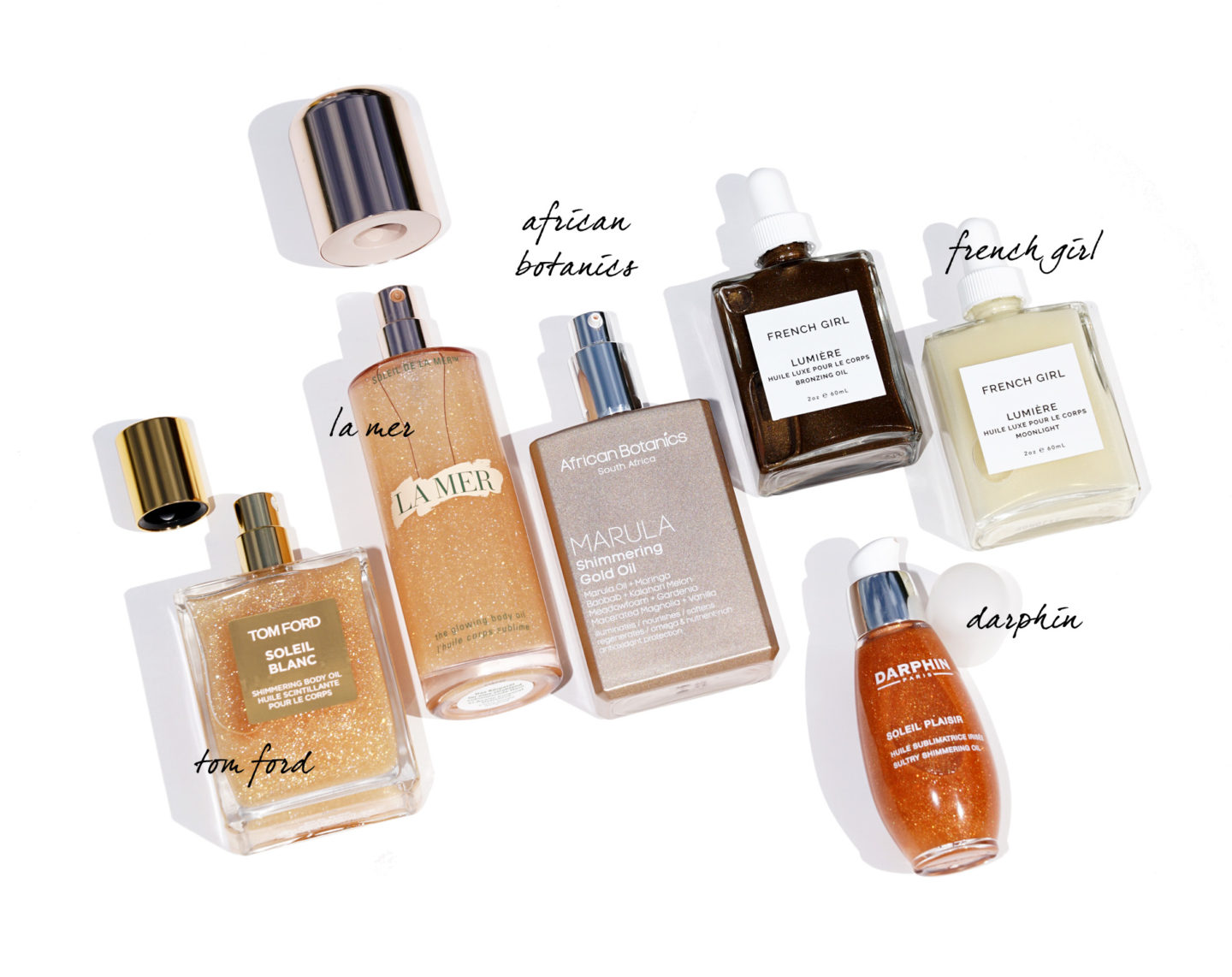 Shimmering Body Oils | The Beauty Look Book