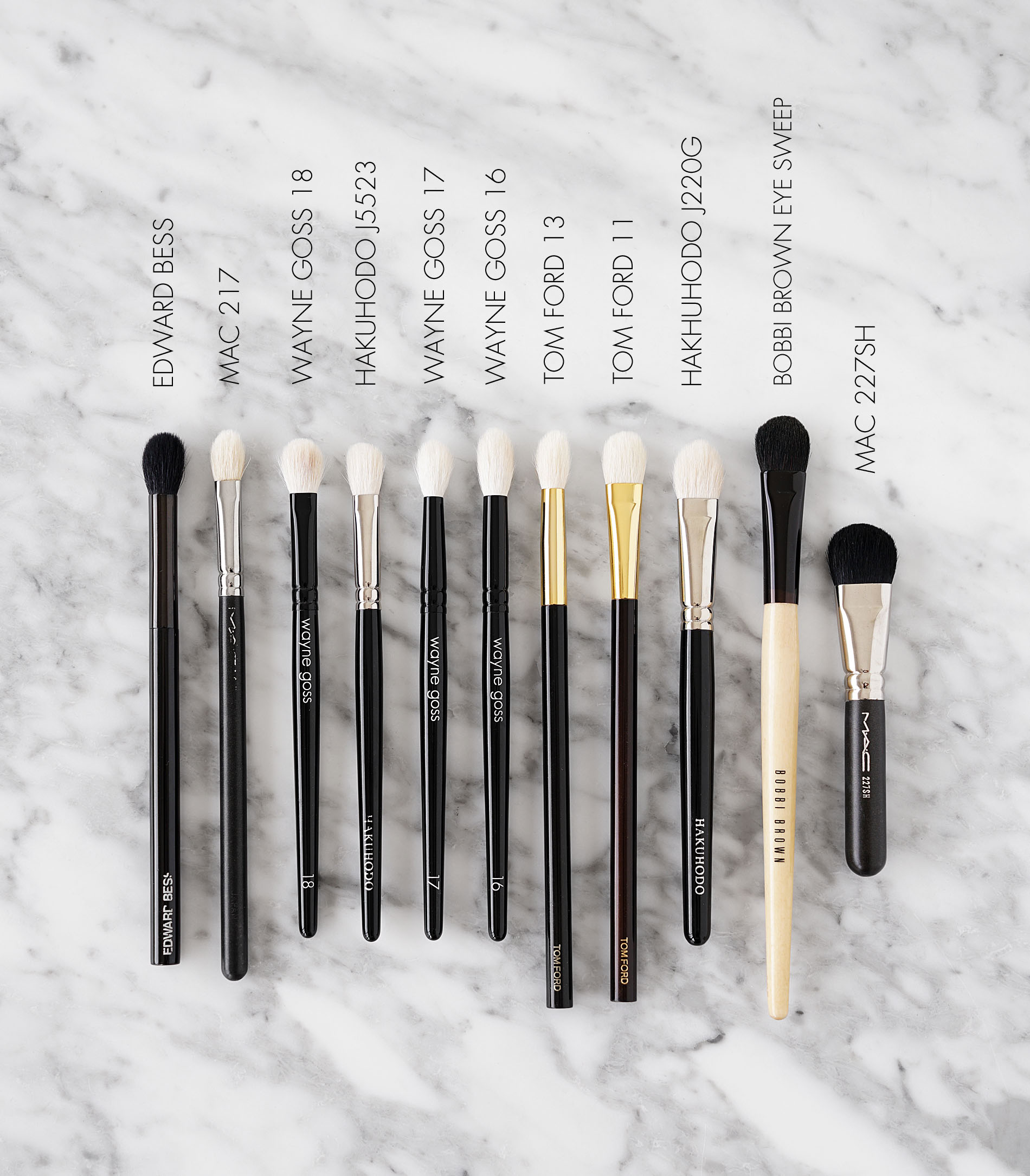 217 Synthetic Blending Brush by MAC #5