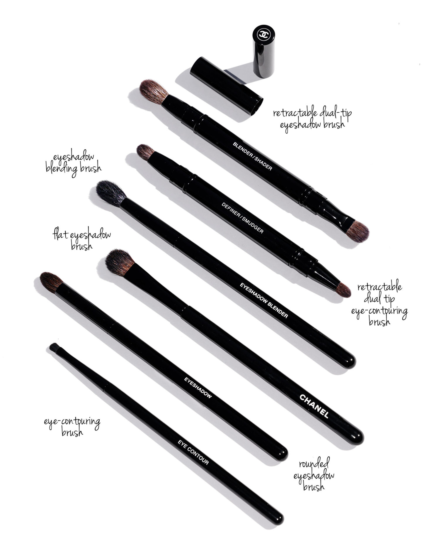 Chanel Eye Brushes New Design | The Beauty Look Book