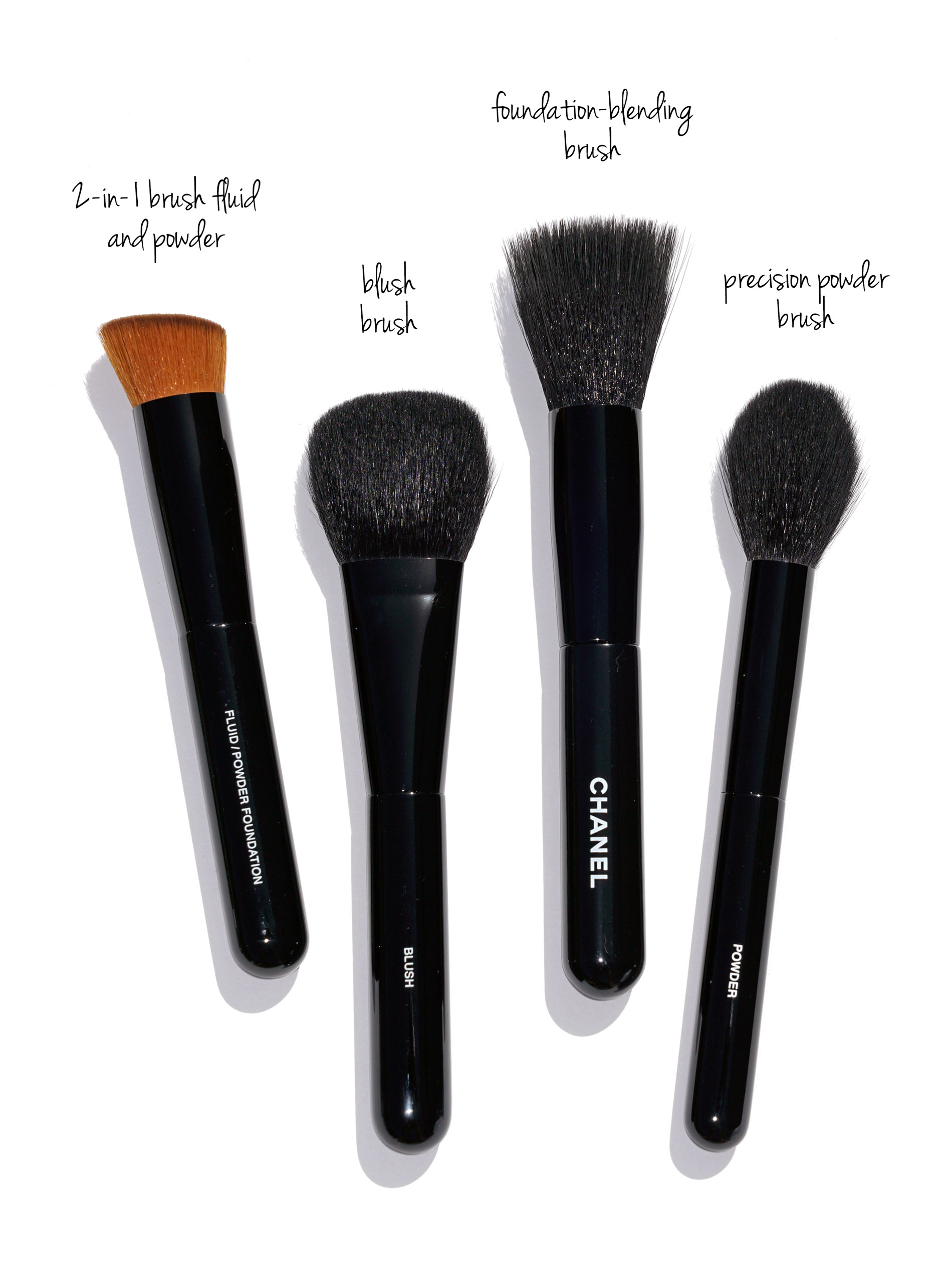 Chanel Makeup Brushes - New Design - The Beauty Look Book