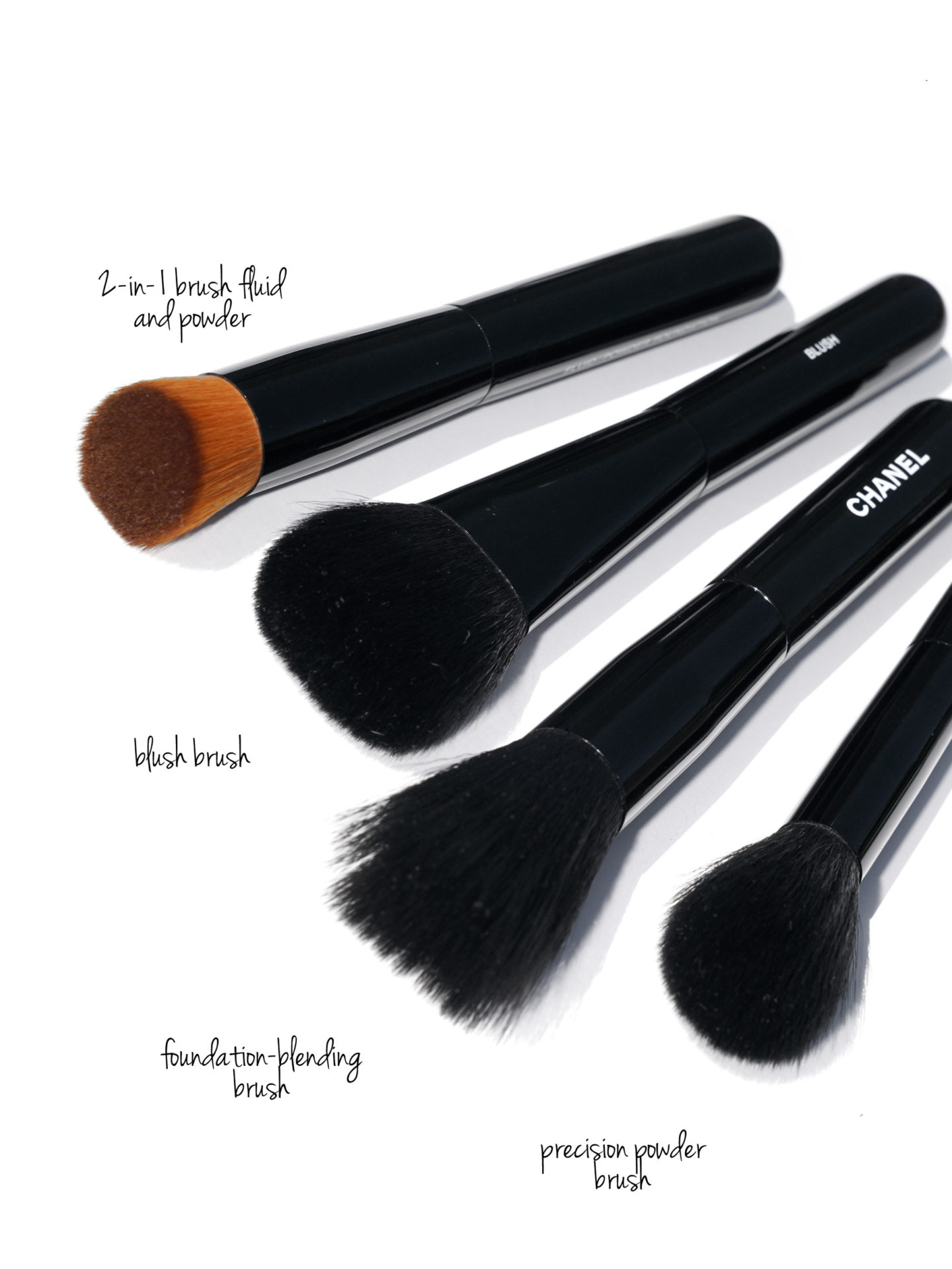 Chanel Makeup Brushes Face and Cheek | The Beauty Look Book