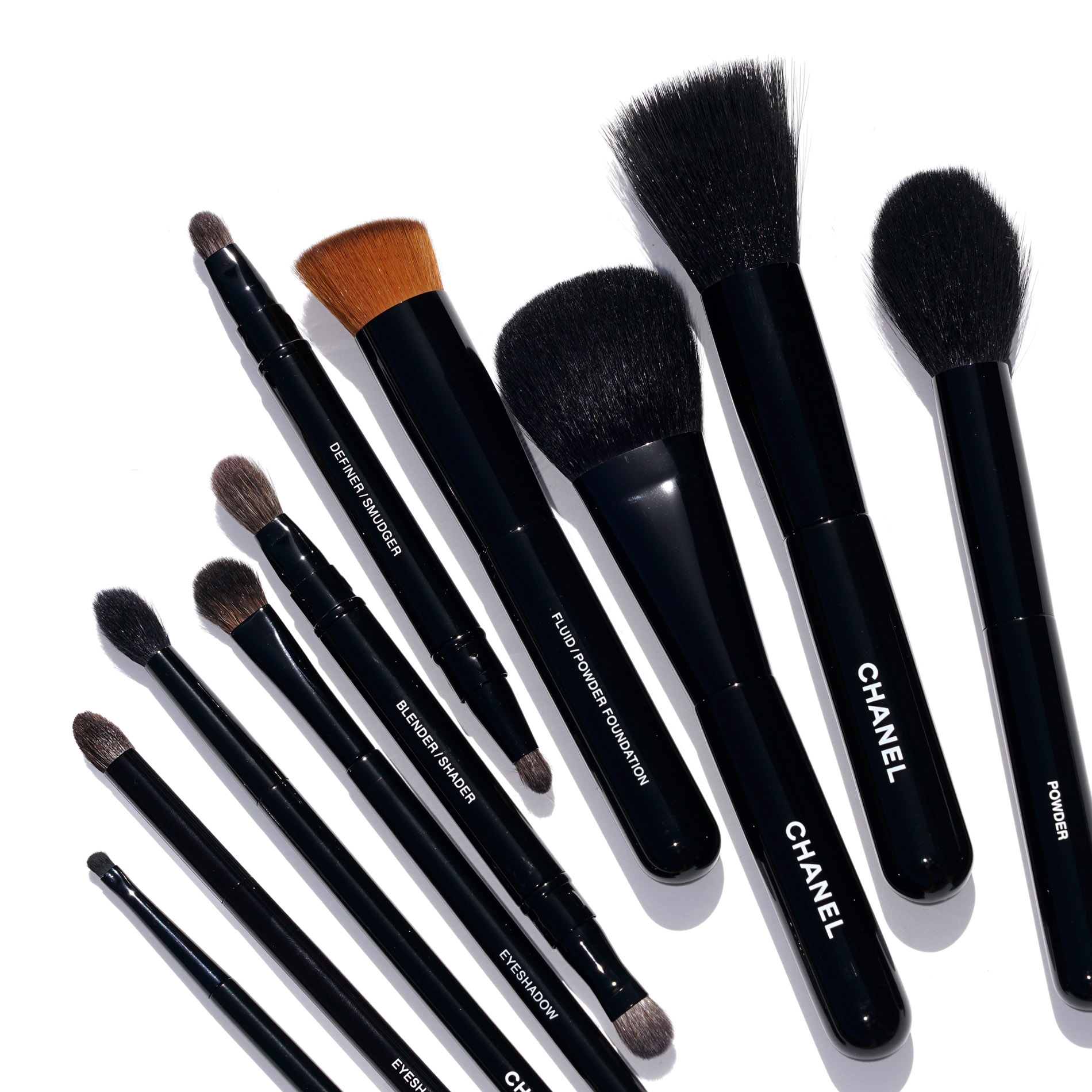 What are chanel makeup brushes made of makeup geek for What is cosmetics made of