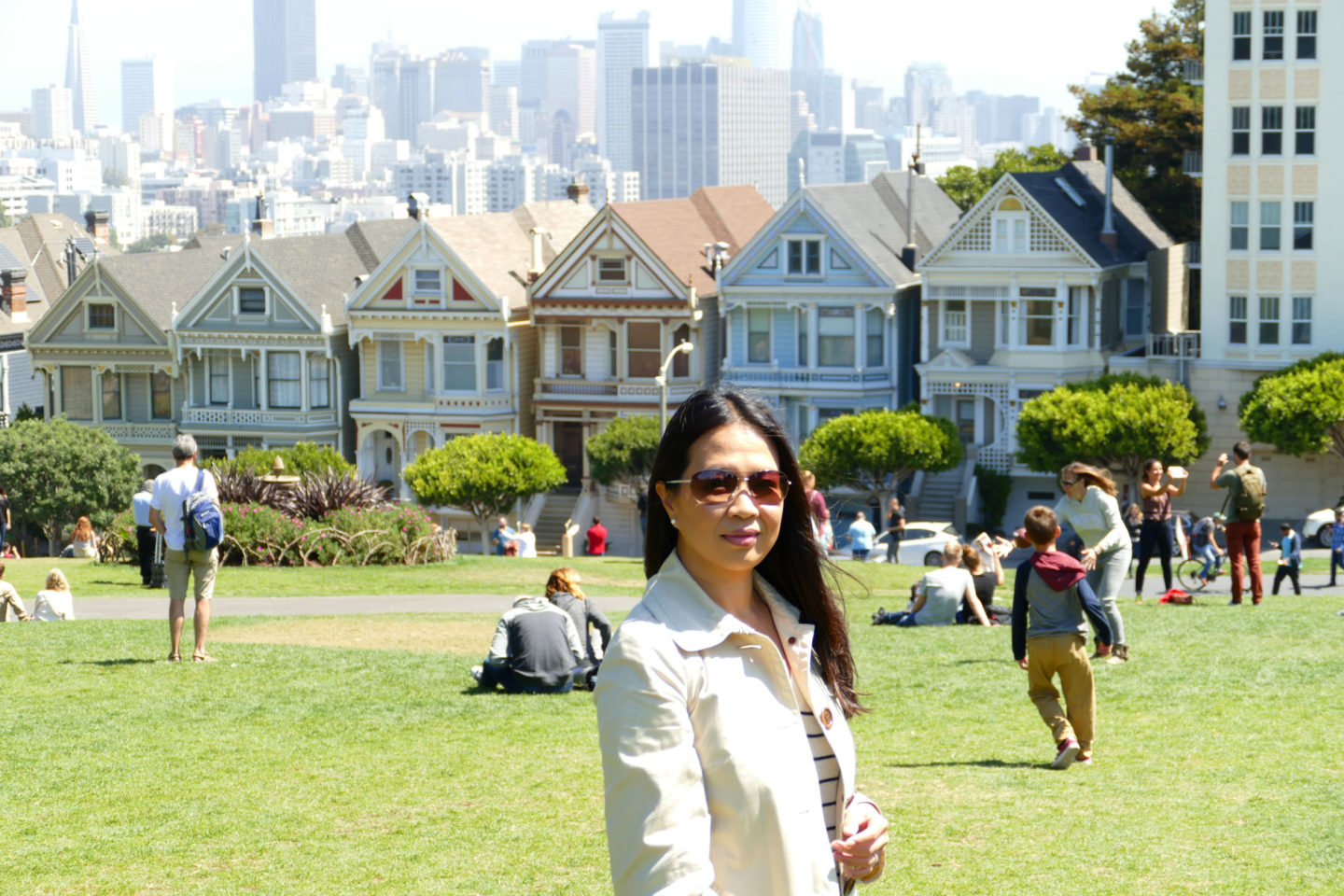 San Francisco Alamo Square | The Beauty Look Book