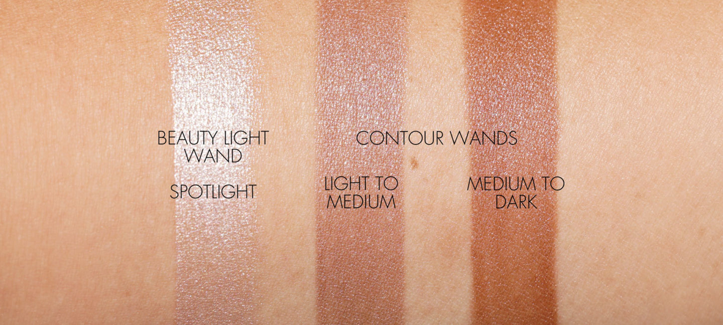 Charlotte Tilbury Hollywood Contour Wand and Beauty Light Wand