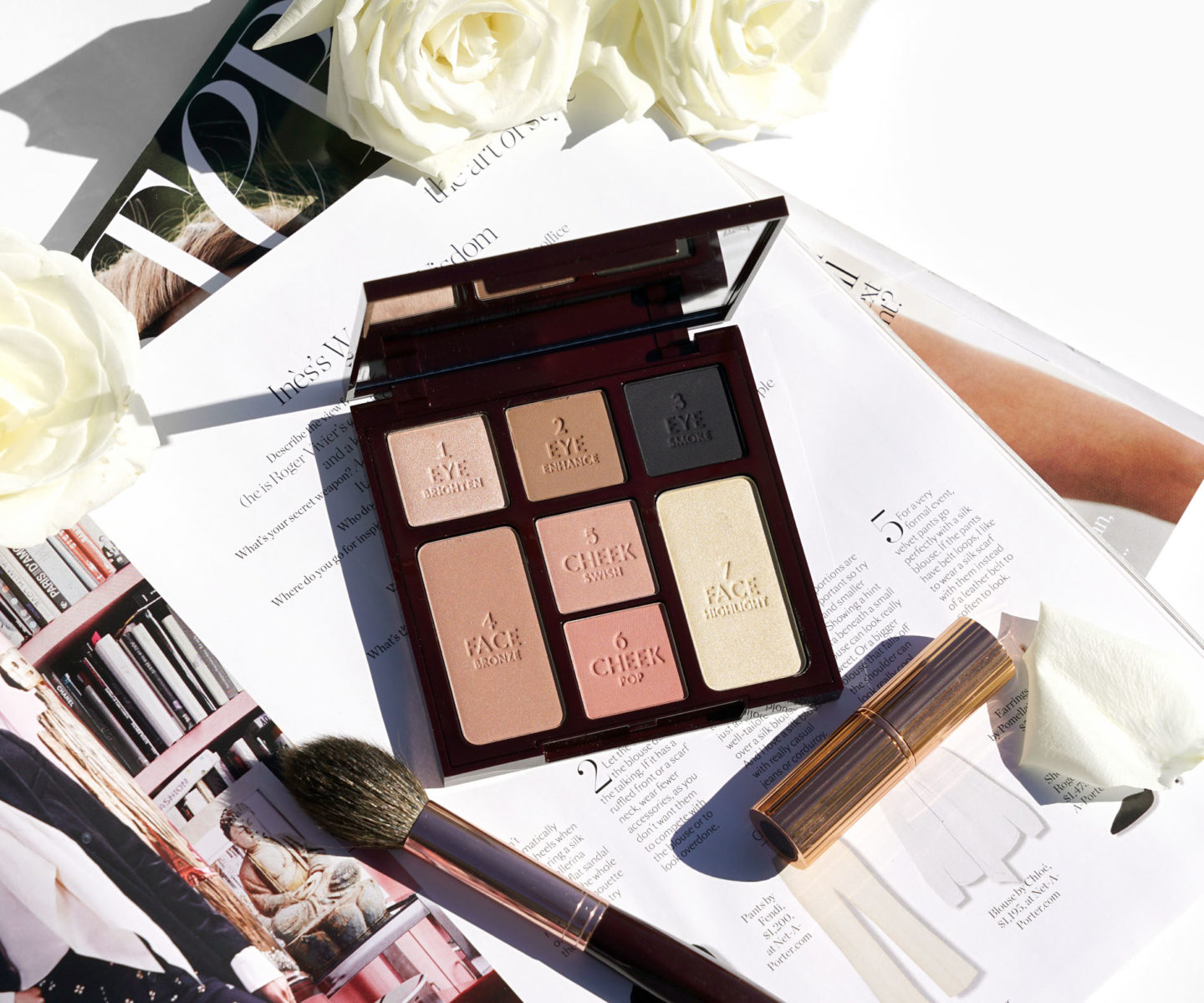 Charlotte Tilbury Instant Look in a Palette Smokey Eye Beauty | The Beauty Look Book
