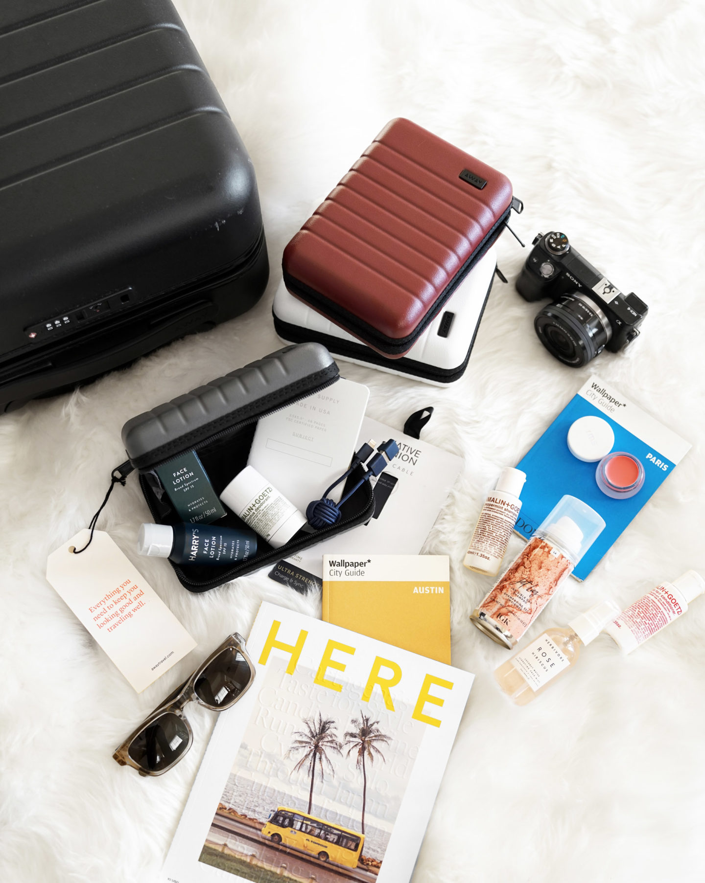 Away Mini Suitcases Holiday Sets
