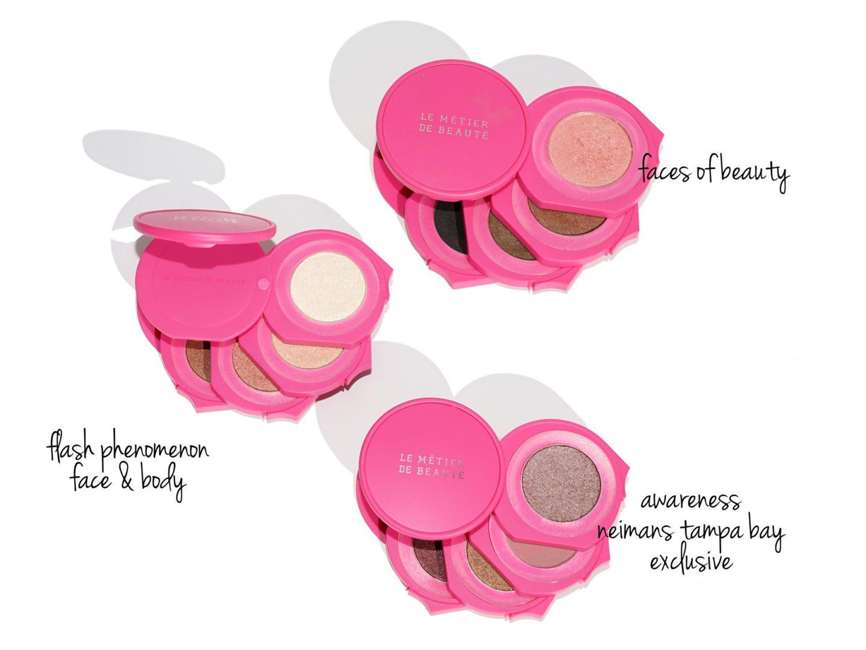 Le Metier de Beaute Kaleidoscope Kits BCA Awareness Faces of Beauty, Flash Phenomenon and Neiman Marcus Tampa Bay