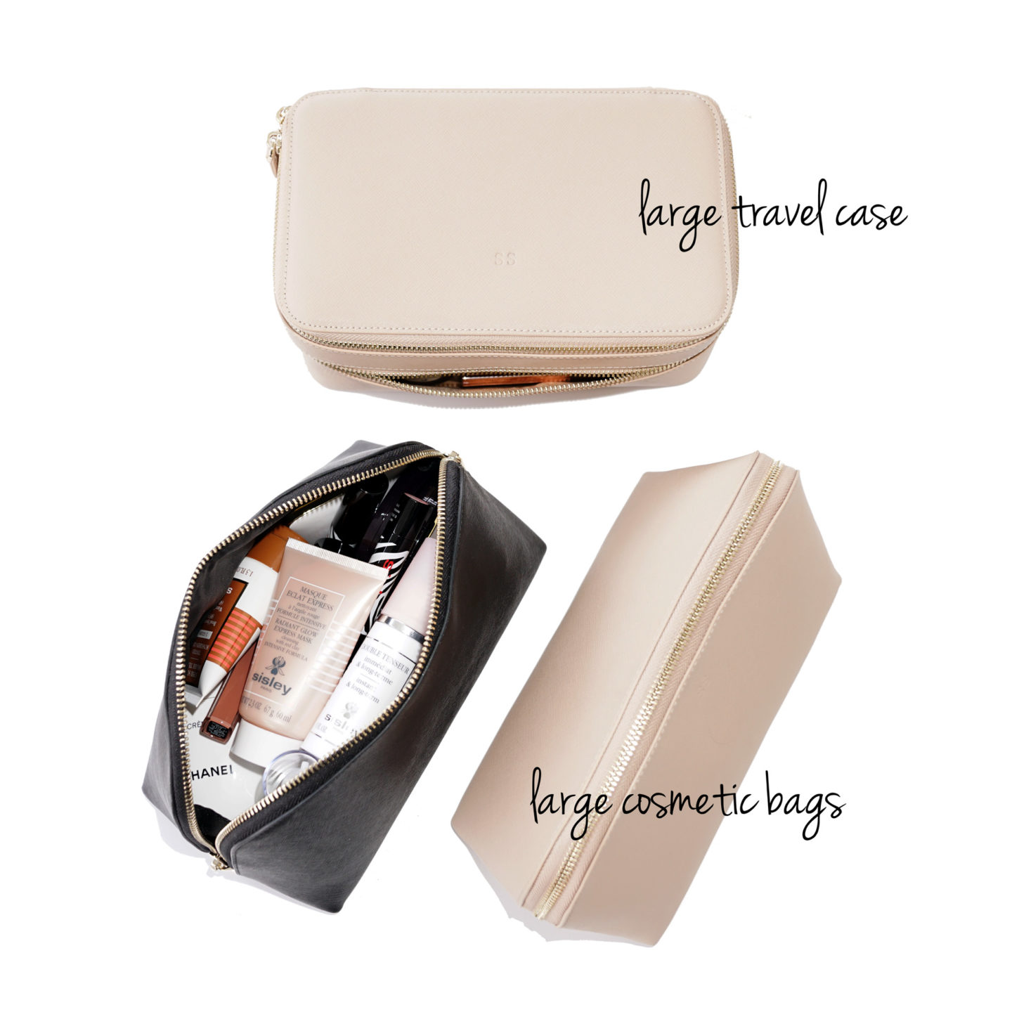 The Daily Edited Large Cosmetic Case and Travel Case