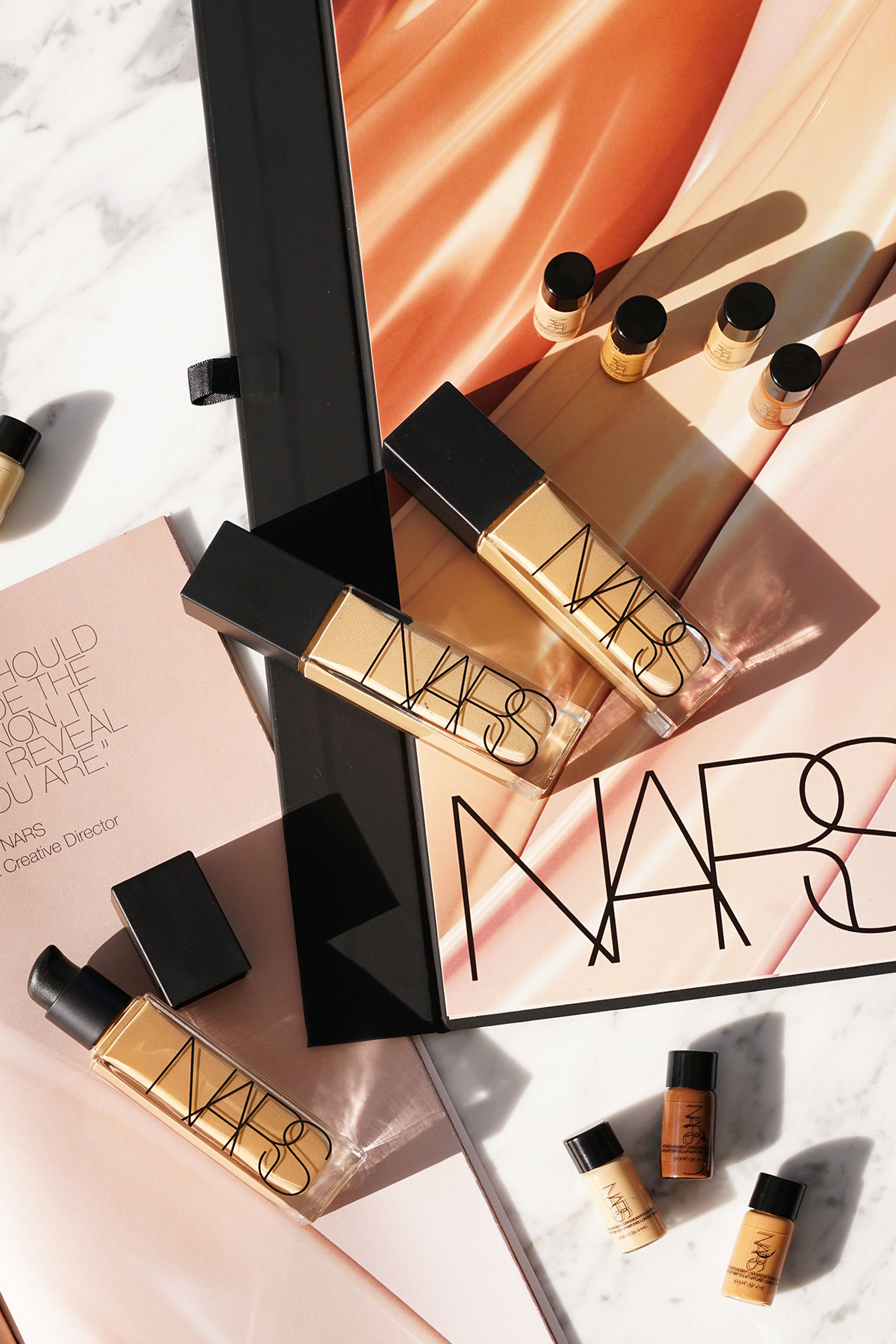 Nars Natural Radiant Longwear Foundation Review Swatches The Beauty Look Book