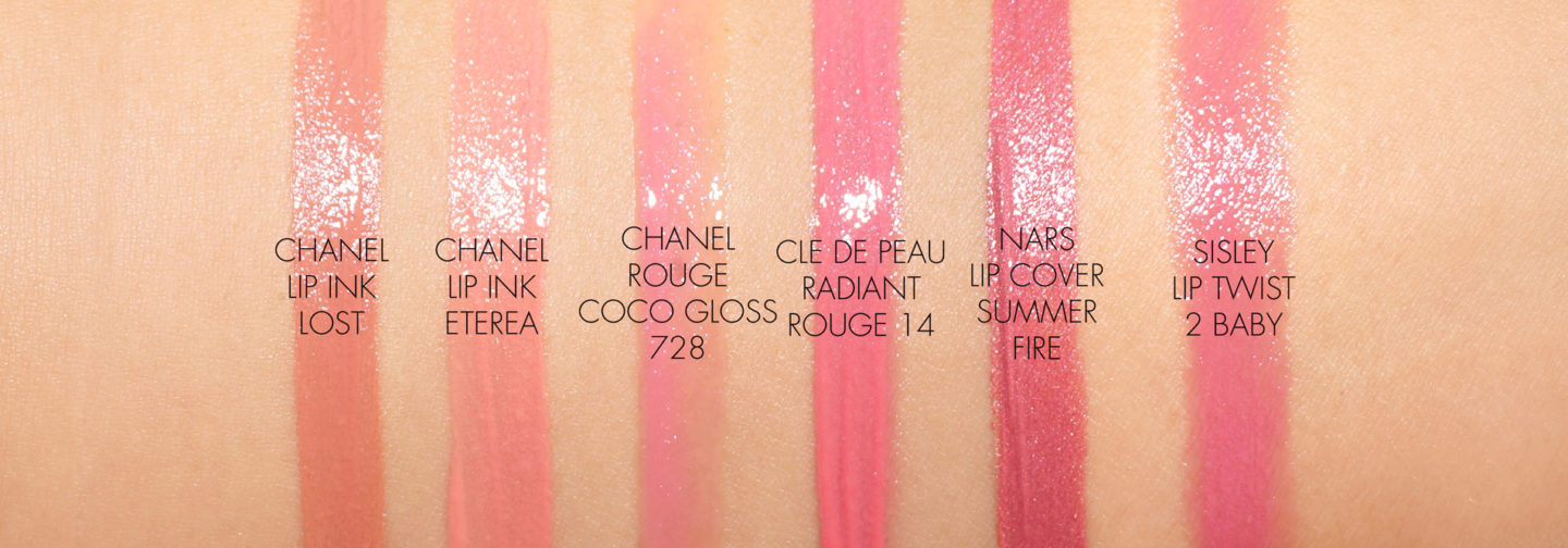 Chanel Rouge Allure Ink swatches | The Beauty Look Book