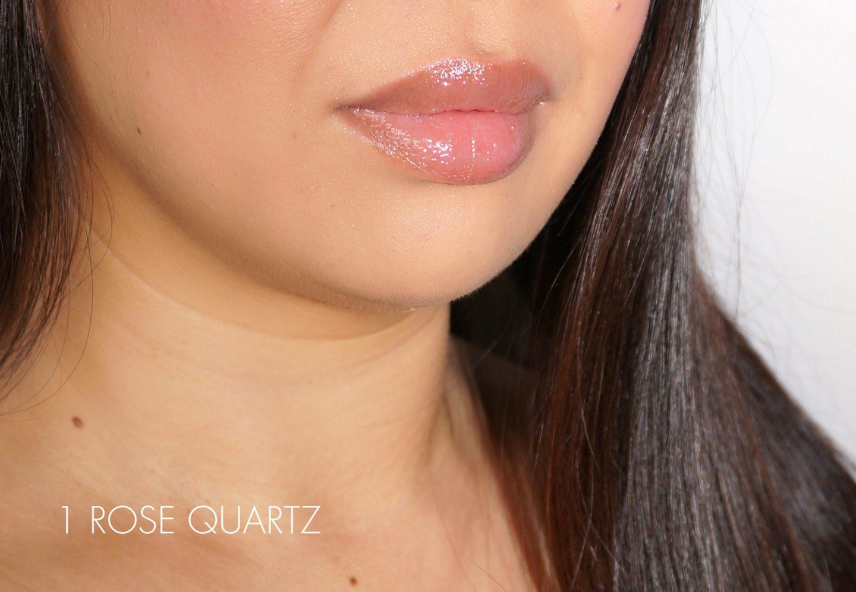 Cle de Peau Radiant Gloss Swatch 1 Rose Quartz