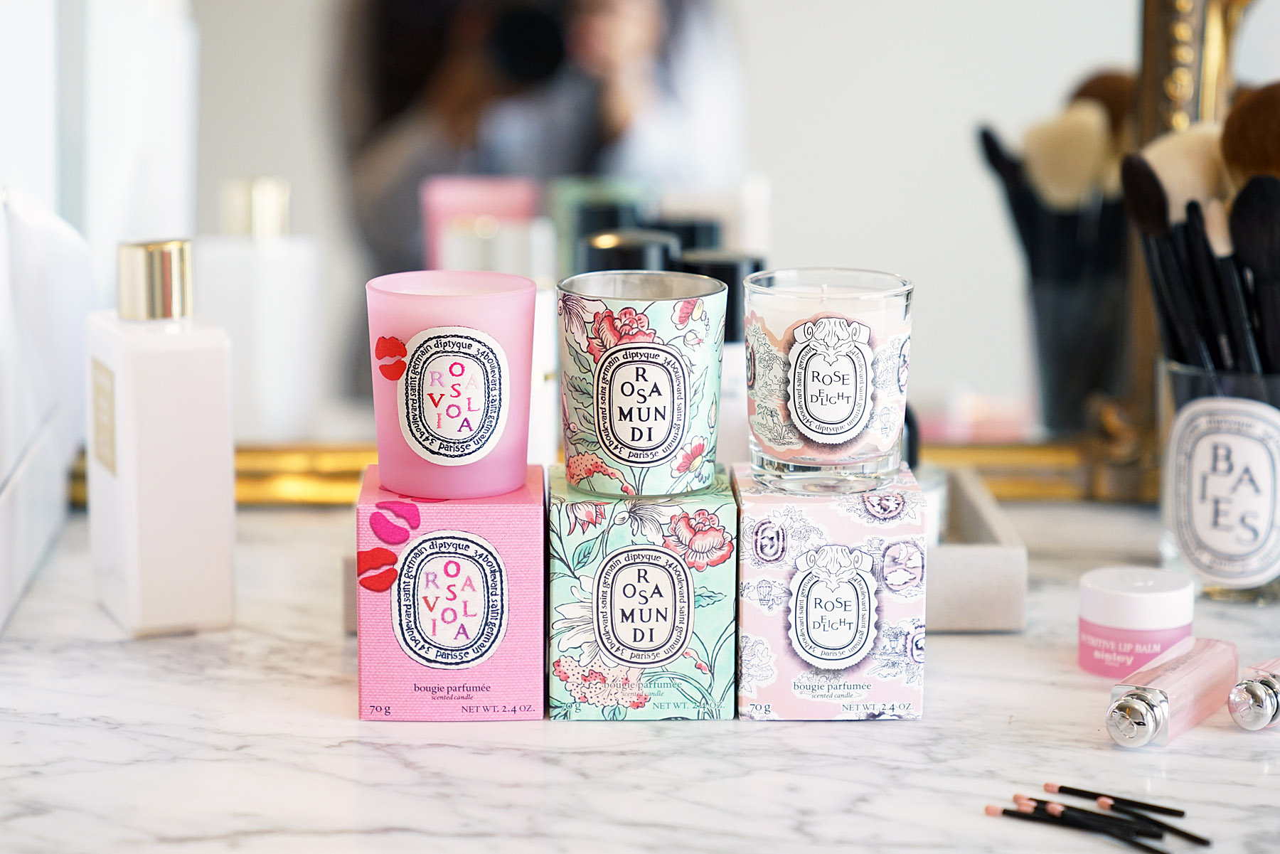 Diptyque Limited-Editions, Rosaviola, Rosamundi and Rose Delight | The Beauty Look Book