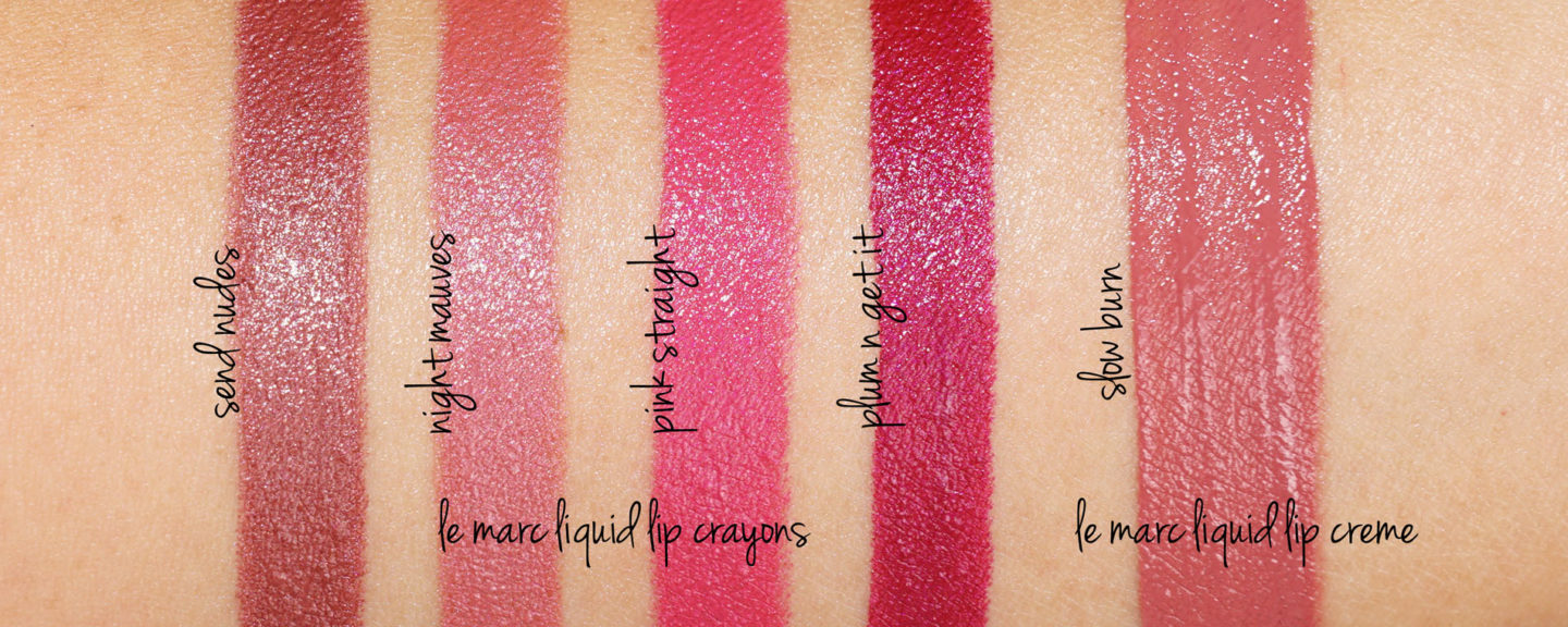 Marc Jacobs Le Marc Liquid Lip Crayon | The Beauty Look Book