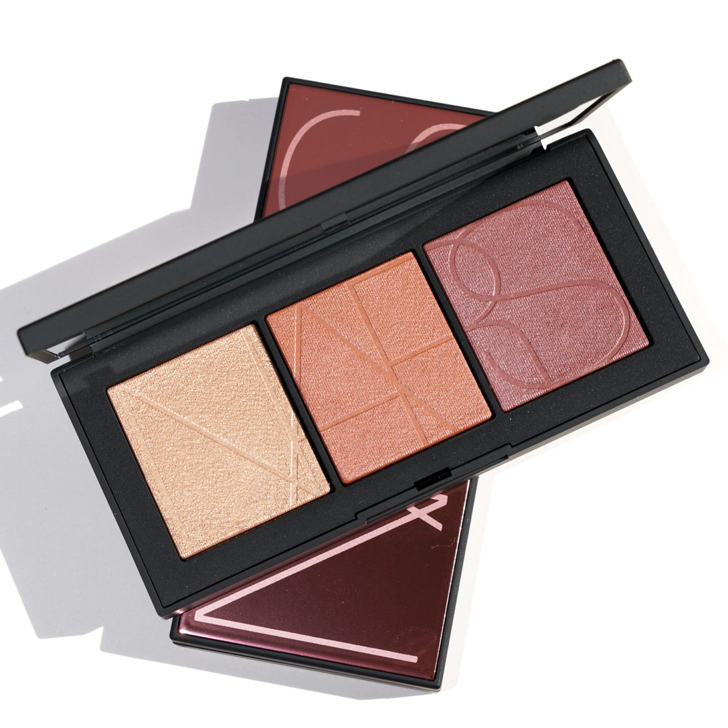 NARS Coucher de Soleil Easy Glowing Cheek Palette review and swatches