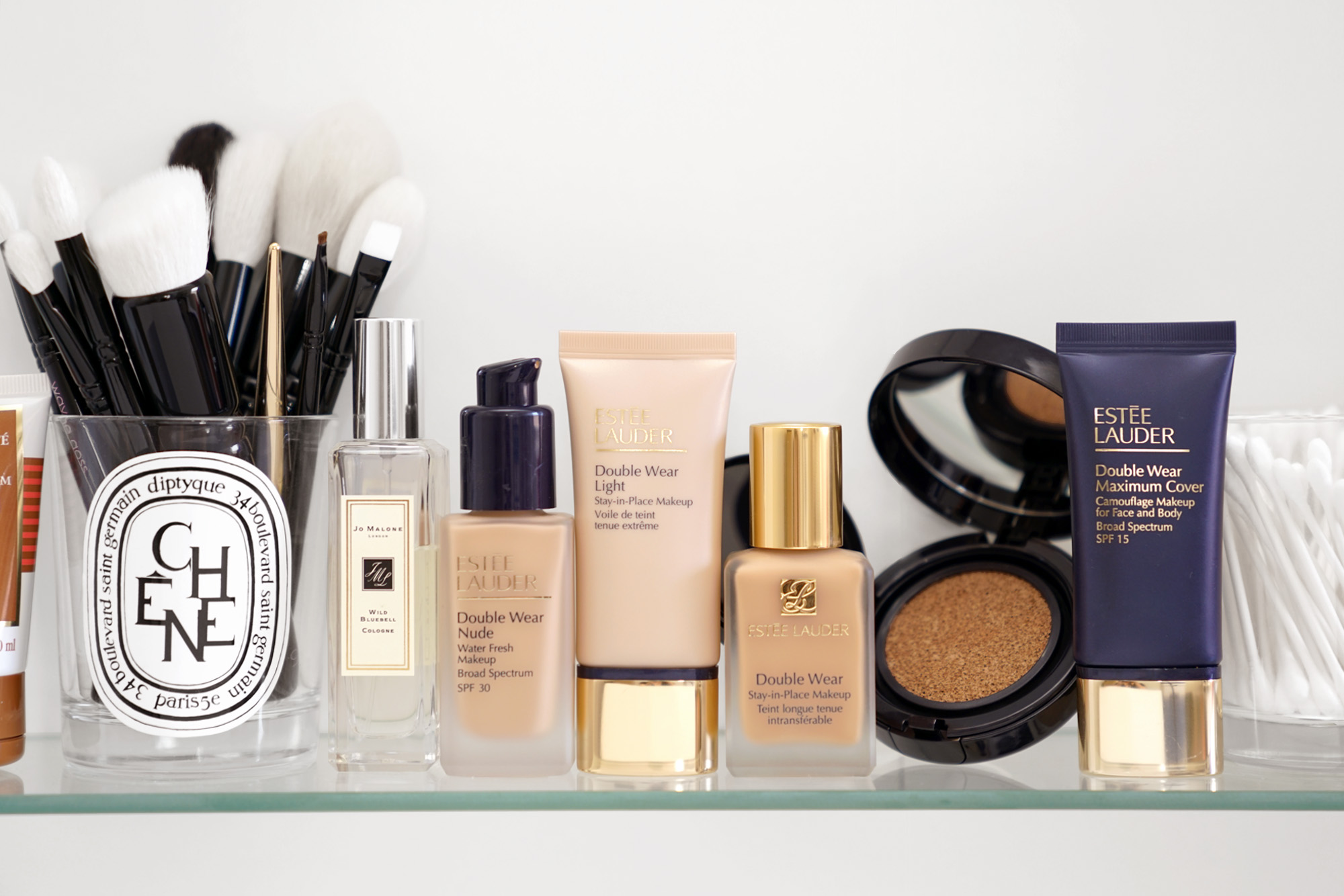 Estee Lauder Double Wear Foundation and