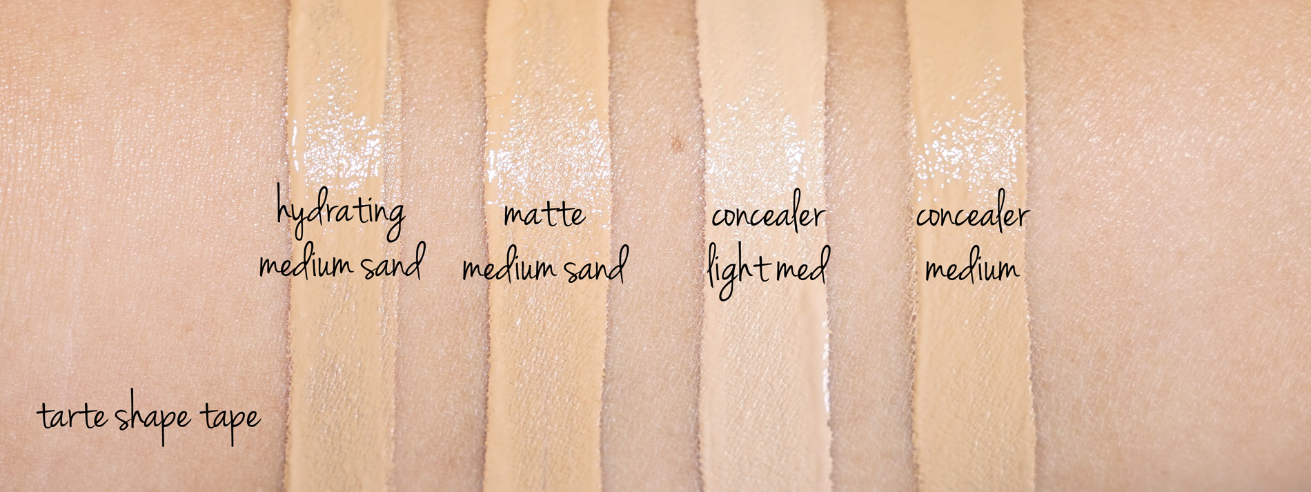 Tarte Shape Tape Foundation And Concealer Review The