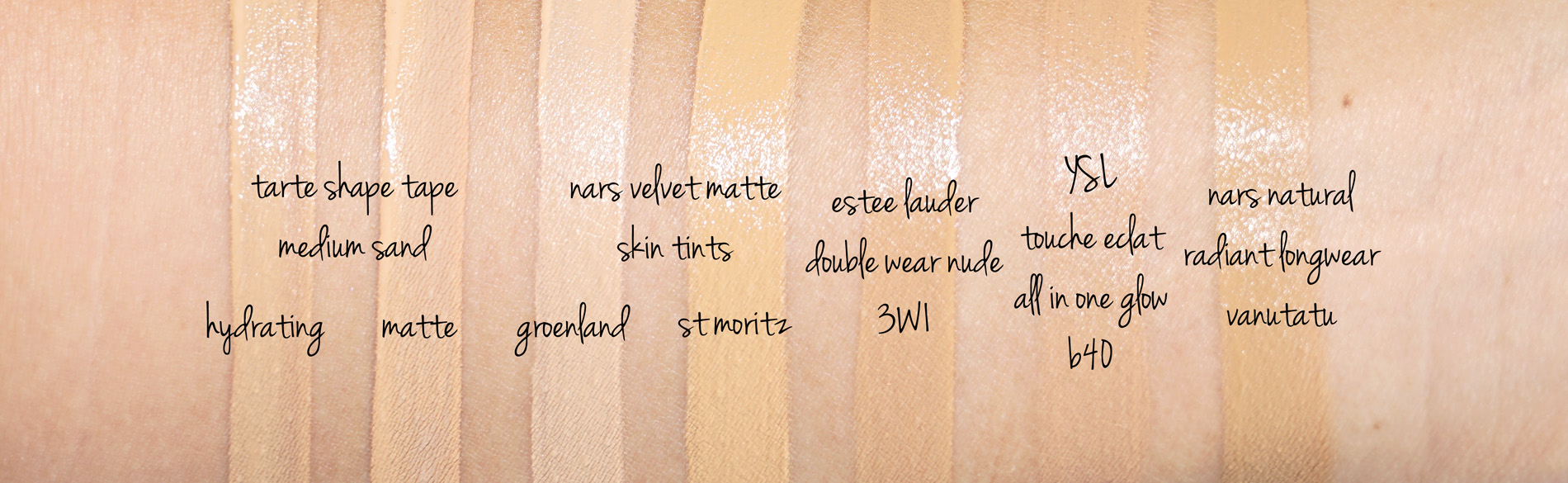 Tarte Shape Tape Foundation And Concealer Review The Beauty Look Book