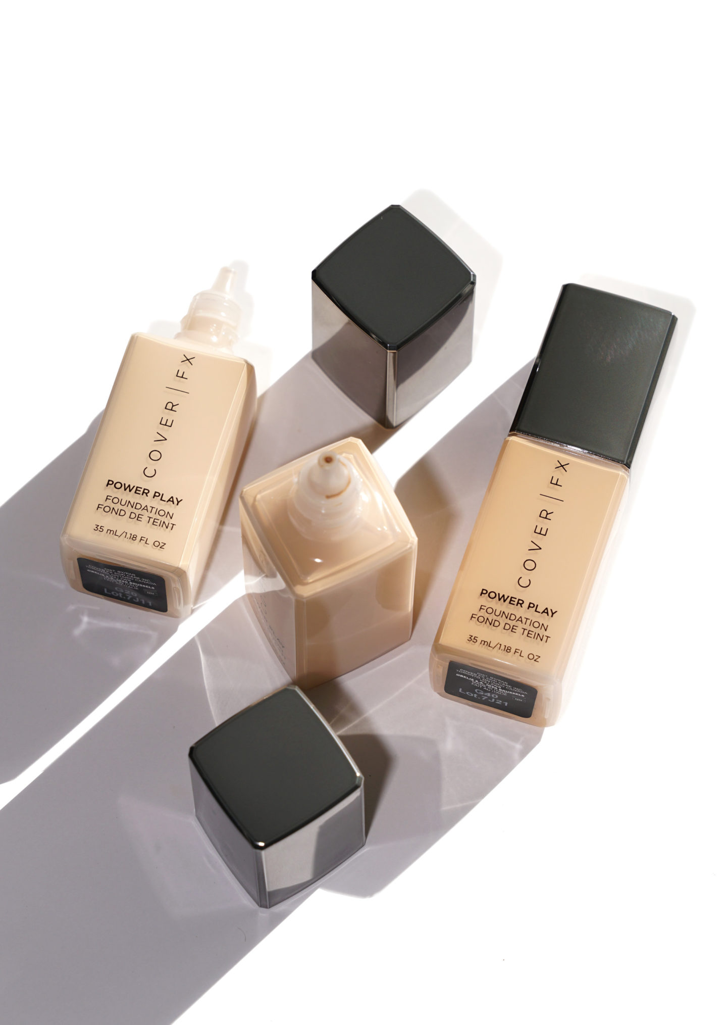 Cover FX Power Play Foundation Review and Swatches