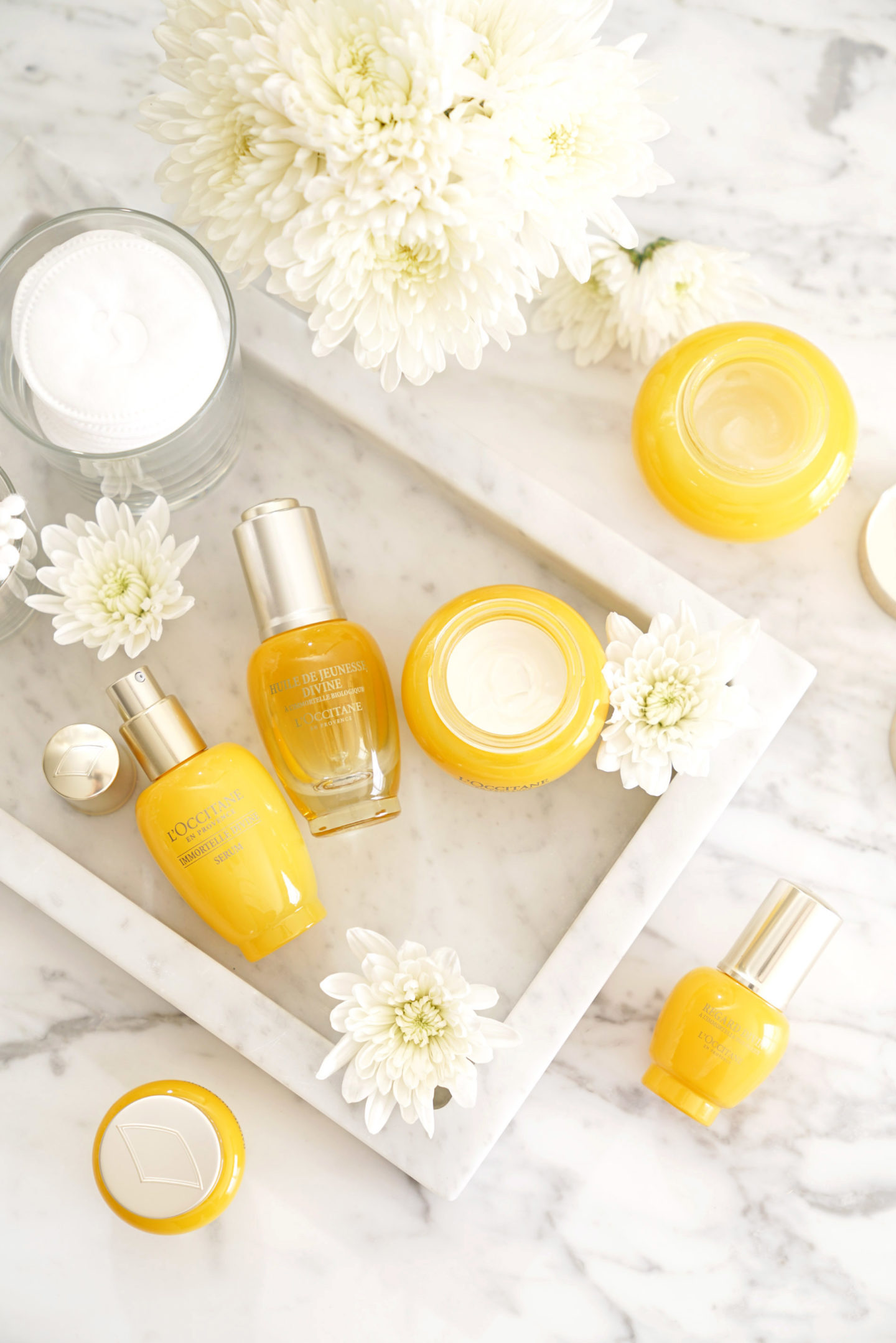 L'Occitane Immortelle Divine Skincare Collection
