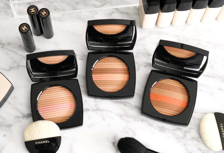 Chanel Les Beiges Healthy Glow Luminous Multi-Colour Powder Light, Medium and Deep