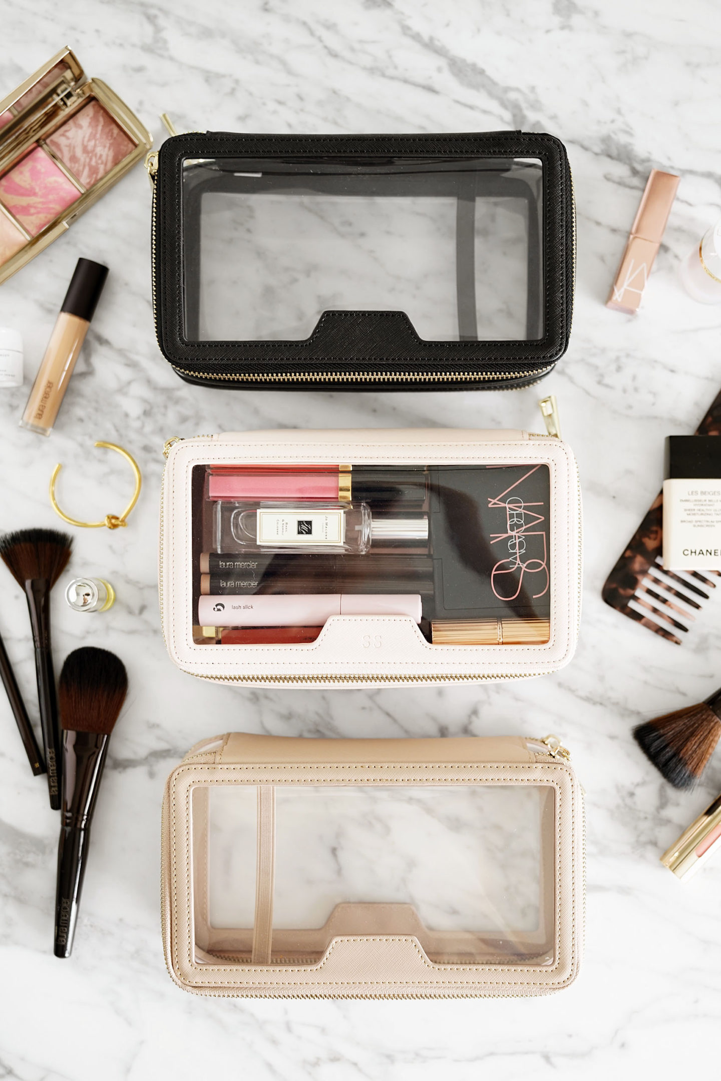 The Daily Edited Transparent Cosmetic Case review | The Beauty Look Book